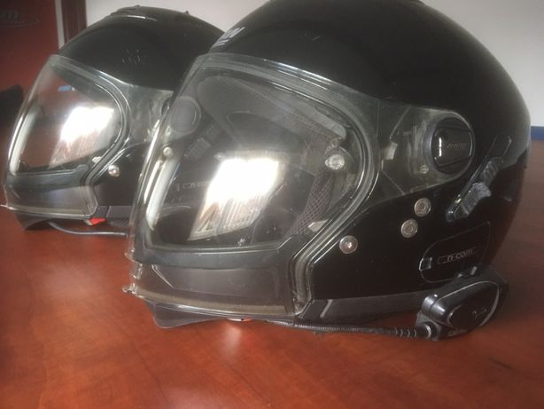 Kaski Nolan N43 Air plus interkom Scala Rider