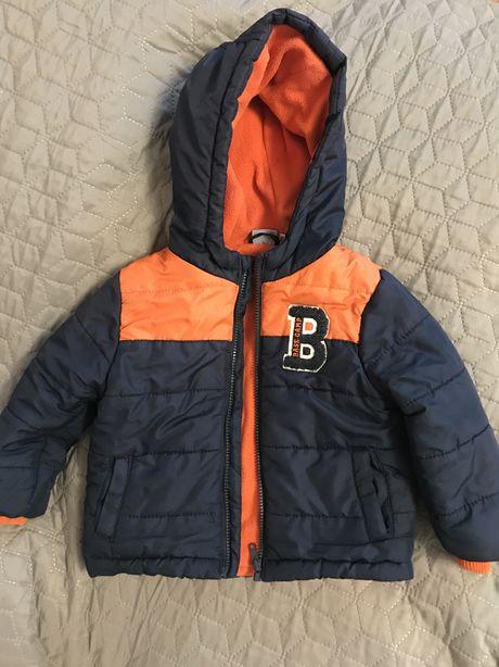 Куртка на мальчика Лупилу lupilu с флисовой подкладкой