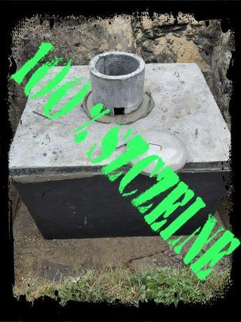 szambo 13m3 szamba betonowe zbiornik na deszczówkę kanał piwnica