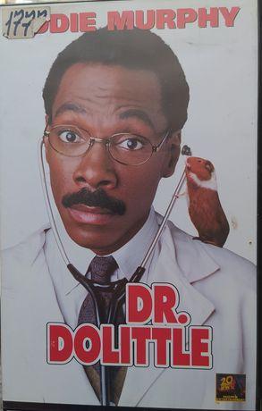 Doktor Dr. Dolittle !!! Eddie Murphy !!! Kaseta VHS video !!!