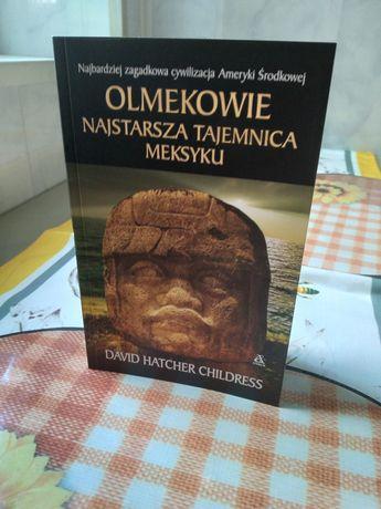 Okazja !! Książka o prehistorycznym plemieniu Olmeków.