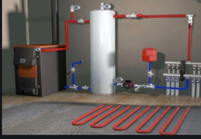 Usługi hydrauliczne, wodne-kanalizacyjne, hydraulik, Instalacja c.o,