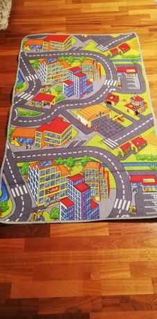 Dywan dywanik ulica miasto dziecięcy 98 x 160