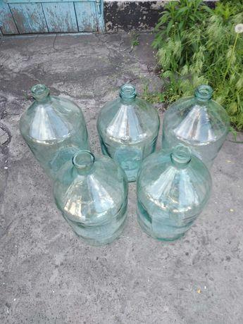 Стеклянные бутыля