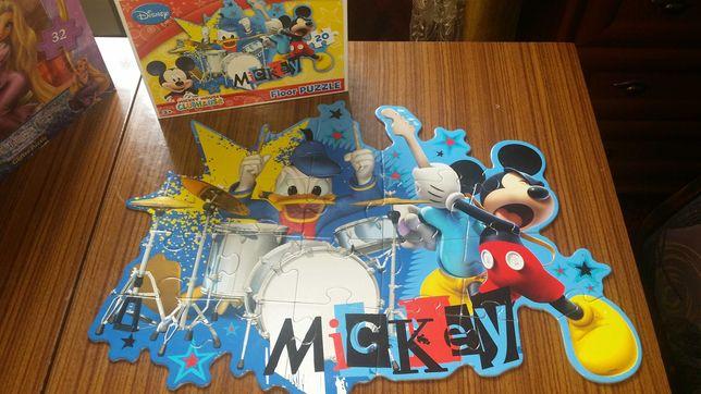 Puzzle maxi podłogowe duże elementy disney myszka miki