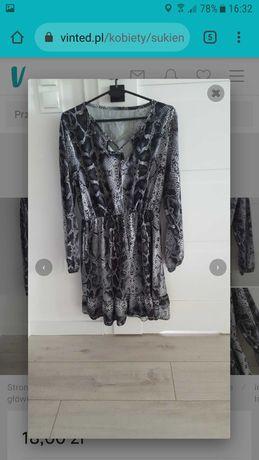 Elegancka sukienka 36 s uniwersalna