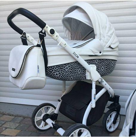 Детская коляска 2в1 Mioobaby ZOOM универсальная для новорожденных