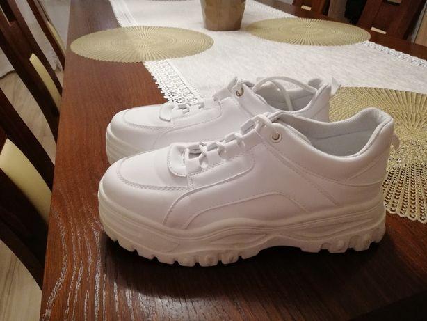 buty sneakersy rising r.40 białe
