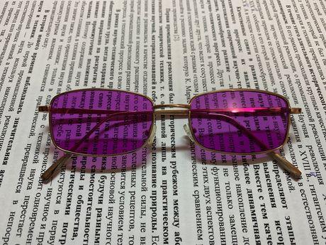 Рожеві окуляри
