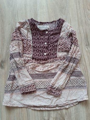 Koszula, tunika, bluzka na długi rękaw