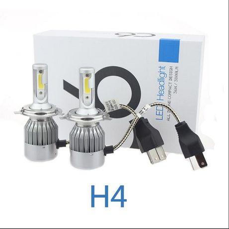 Светодиодные лампы H4 H1 H7 LED HeadLight C6 COB