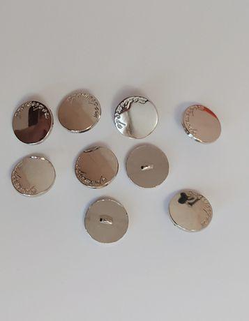 Пуговицы металл на ножке 17 мм