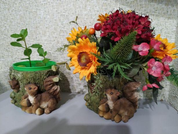 Горшок кашпо для цветов