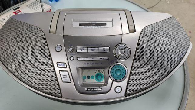 Bombox panasonic radiomagnetofon