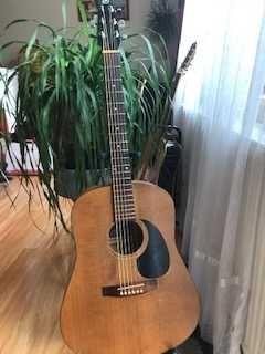 Gitara Akustyczna Seaqull S 6 zrobiona w Kanadzie -po przejściach