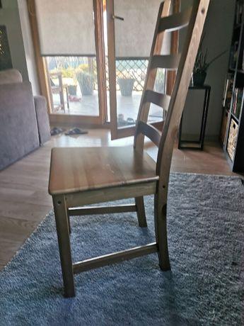 Krzesło Ikea drewniane
