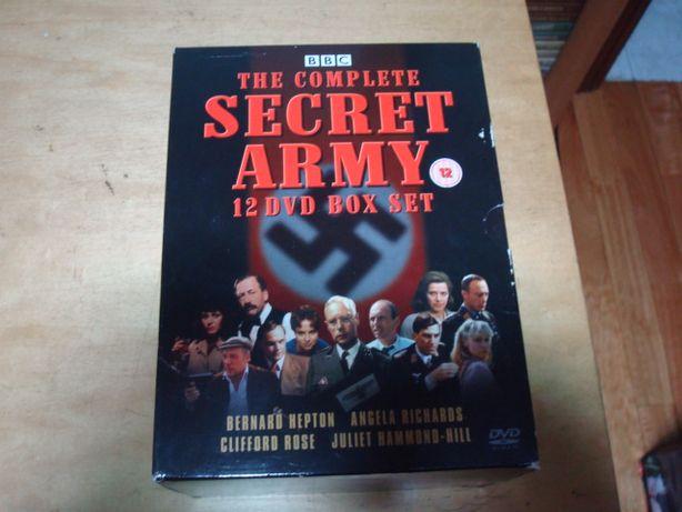 box Serie completa the secret army da bbc