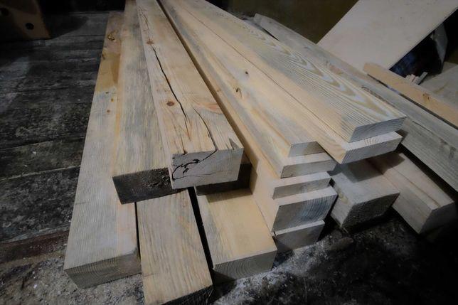 Belki, kantówki, deski na sztuki sosnowe drewno do odbioru w Rzeszowie