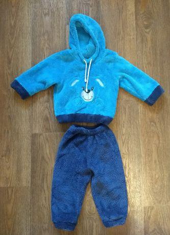 Детский костюм, плюшевый костюмчик 12-18 мес