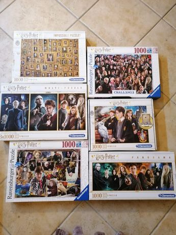 Oportunidade Puzzles Harry Potter