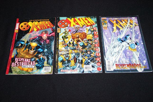Banda desenhada - Os espantosos X-men - 3 volumes