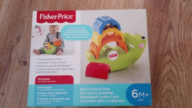 Krokodyl Fisher Price Nowy