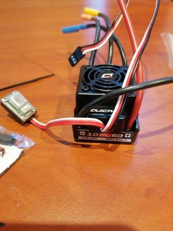 Регулятор бесколлекторный ESC HobbyWing QuicRun WP 10BL60