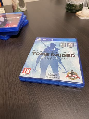 Rise of the Tomb Raider PS4 PL