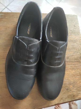 Туфлі для школи шкіряні
