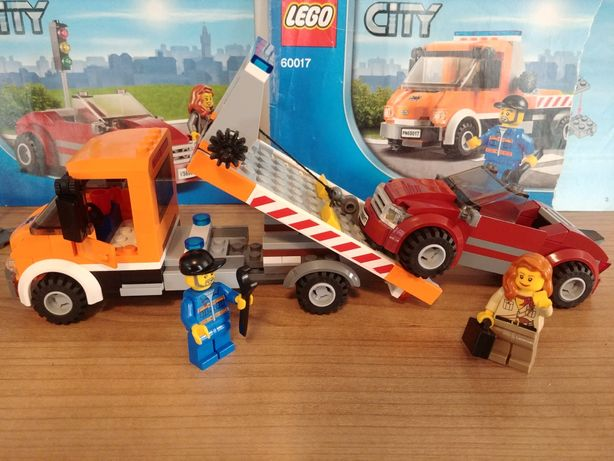 Lego City 60017 Pomoc drogowa laweta