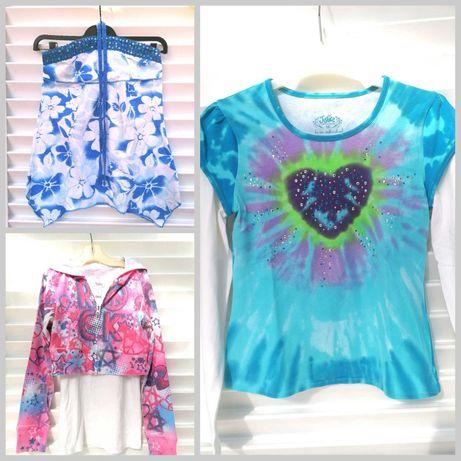 Top e T-shirts Justice Menina 10 e 12 Anos