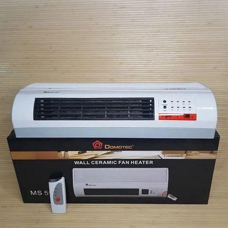Тепловентилятор тепловая завеса керамический обогреватель настенный