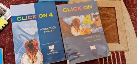Click On 4 Student's Book + Workbook
