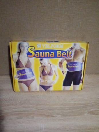 Тепловой массажер-пояс Sauna Belt.