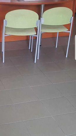 Okazja! Krzesło konferencyjne z alcantary