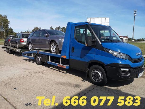 Pomoc Drogowa Zielona Góra Auto laweta Transport PL EU
