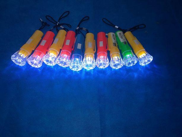 фонарики с батарейками в комплекте