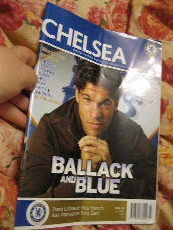книга журнал футбол английский язык chelsea 2006 июль отличное состоян