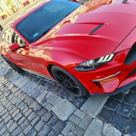 Ford Mustang 2.3 EcoBoost 290 KM Lift 2018 Cyfrowe Zegary