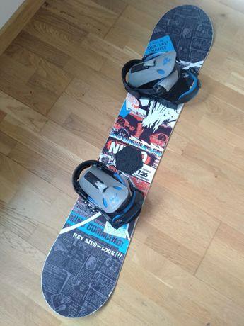 Nitro Brawler 126 deska snowboardowa snowboard wiązania Burton S M
