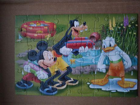puzzle 54 myszka Miki, Disney OKAZJA wyprzedaż