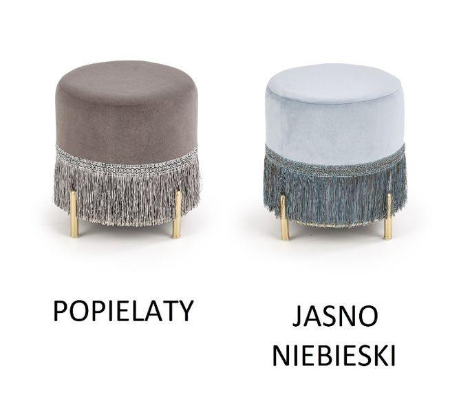 COSBY / PUFA SIEDZISKO miękka tkanina velvet / 2 kolory / 39x39 cm