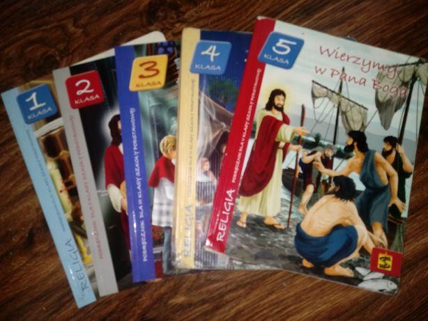 Podręcznik do Religii klasa 1,2,3,4,5