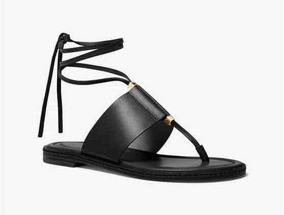 Michael Kors, Marlon flat sandal leather.Оригинал!