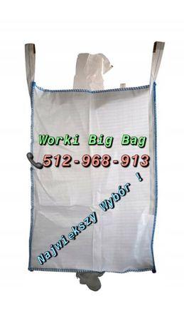 Worki BIG BAG czyste jak nowe 100x100x205 cm !