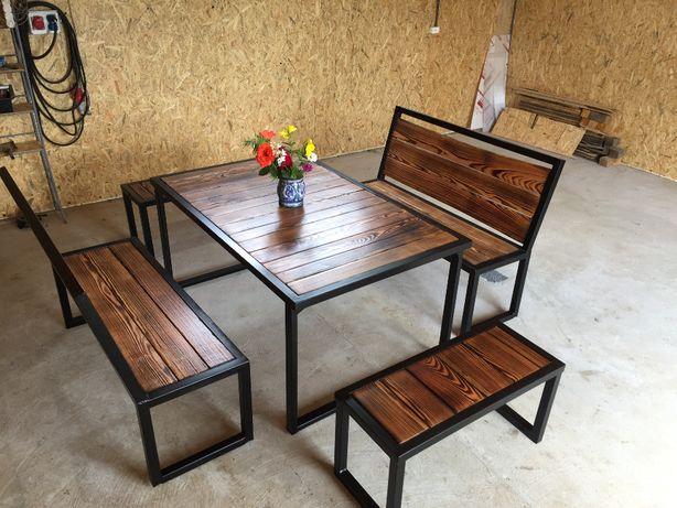 Stół ławki