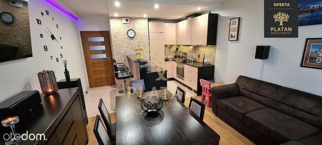 Nowoczesny apartament, wysoki standard z ogródkiem