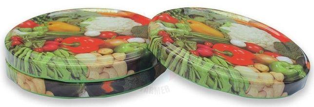 Zakrętka 6-zaczepów Warzywa średnica 82mm cena za 10szt
