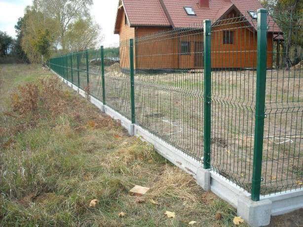 Ogrodzenia panelowe panele ogrodzeniowe Panel 153 fi 4 z montażem Wschowa - image 1