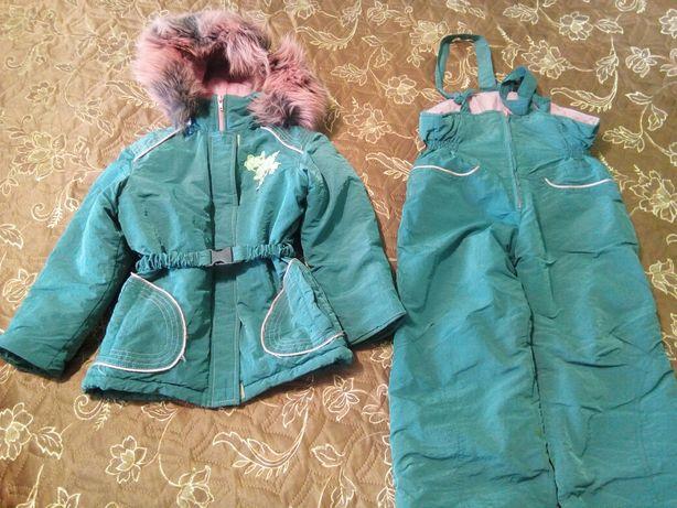 Полукомбез с курткой 4-6 лет